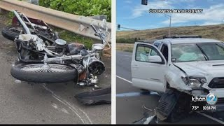 Motorcyclist dies in traffic accident on Honoapiilani Highway on Maui