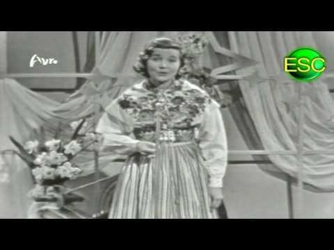 ESC 1958 05 - Sweden - Alice Babs - Lilla Stjärna
