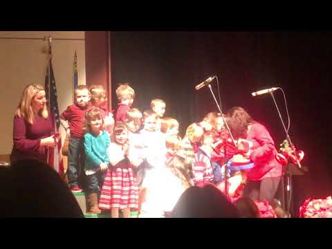 Mary r fisher elementary school 2017 holiday concert preschool