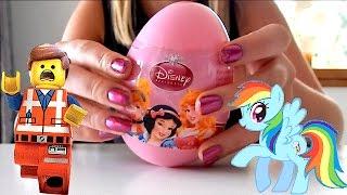 My Little Pony (MLP), Disney Princess Surprise Eggs & Lego Toys