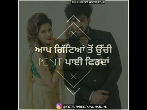 punjabi caption for instagram