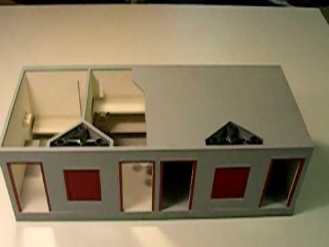 1:24 scale architectural interior model