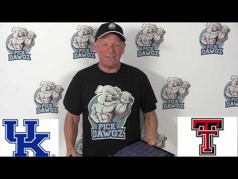 Texas Tech vs Kentucky 1/25/20 Free College Basketball Pick and Prediction CBB Betting Tips