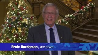 Ernie Hardeman MPP Christmas Video