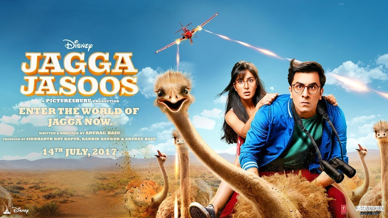 Jagga Jasoos Ranbir Kapoor Katrina Kaif Latest Bollywood Movie 2018