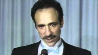 f murray abraham being named best actor at the 1985 academy awards