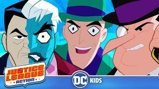 Justice League Action | Gotham's Greatest Villains | DC Kids