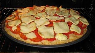 Простой рецепт домашней пиццы. Куриные котлеты.