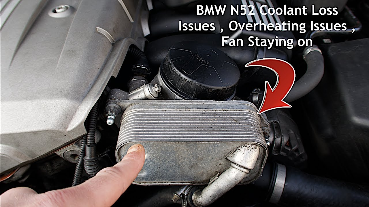 BMW N52 Coolant Issues , Overheating issues , Fan Staying On , Water pump issues