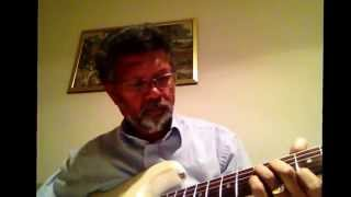 How to play old Hindi song  on a electric guitar.