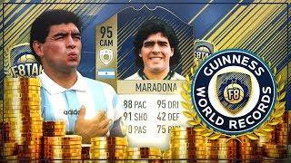 FIFA 18: F8TAL ICON Maradona #04 - REKORD FOLGE