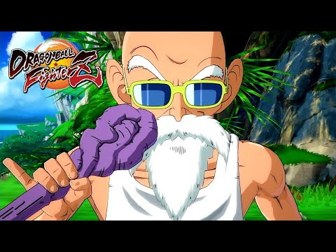 Dragon Ball FighterZ - Master Roshi Announcement Trailer