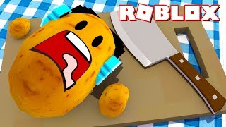 O AUTHENTIC VIROU UMA BATATA !! - Roblox (Potato Simulator)