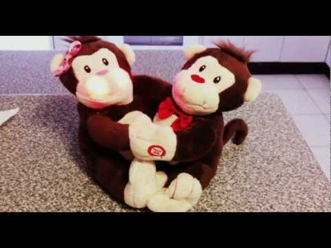 Valentines Singing Monkeys