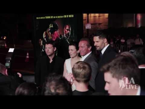 SABOTAGE Movie Premiere At REGAL Cinemas L.A. LIVE