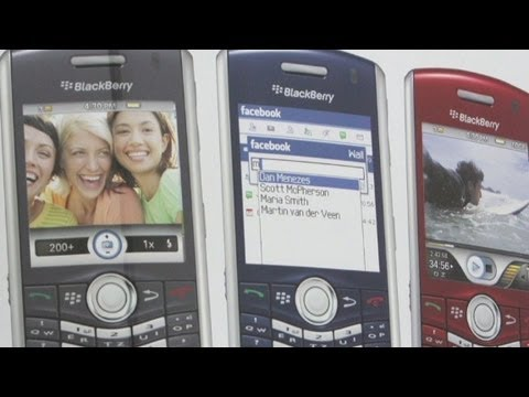 A history of Blackberry in 93 seconds