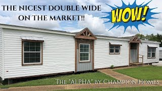 THE NICEST DOUBLE WIDE ON THE MARKET!! The Alpha by Champion Homes | 32x72 3 bed 2 bath mobile home