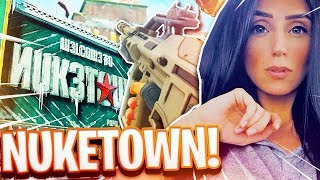 NEW NUKETOWN IN CALL OF DUTY BLACK OPS 4!!! TRYHARD GIRL MASTER PRESTIGE GAMEPLAY!!!