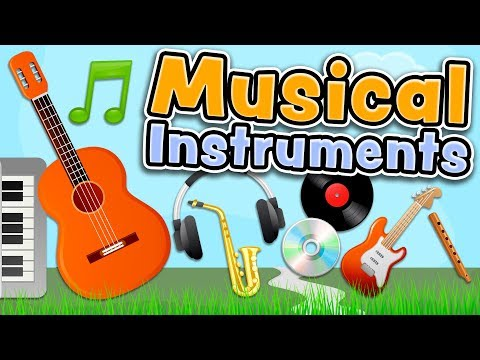 Musical instruments in English