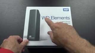 Western Digital WD Elements 5TB USB 3.0 Drive Unboxing and Speed Test