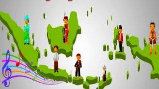 Download Lagu Kumpulan Instrumen Lagu Daerah Nusantara Indonesia MP3