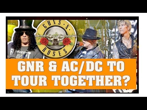 Guns N' Roses Reunion News:  GNR & AC/DC To Tour Together With Axl Fronting Both Bands?