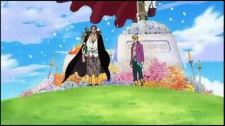 One Piece - Whitebeard and Ace Burial [ ENGLISH DUB ]