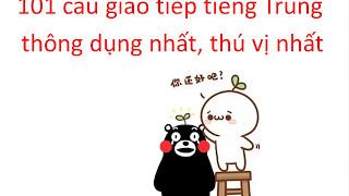 Tiếng Trung giao tiếp || 1800 câu giao tiếp tiếng Trung thông dụng part 8 - Tiếng Trung 518
