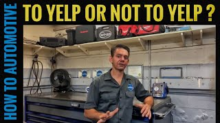 Is Yelp a Good Way to Find an Auto Repair Shop?