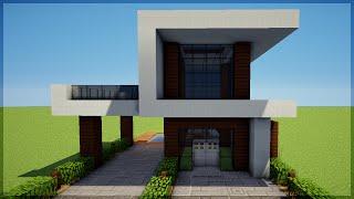 Minecraft: Construindo uma Pequena Casa Moderna 5