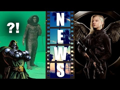 First Look, Toby Kebbell as Doctor Doom! Mockingjay Posters! Cressida, Boggs! - Beyond The Trailer
