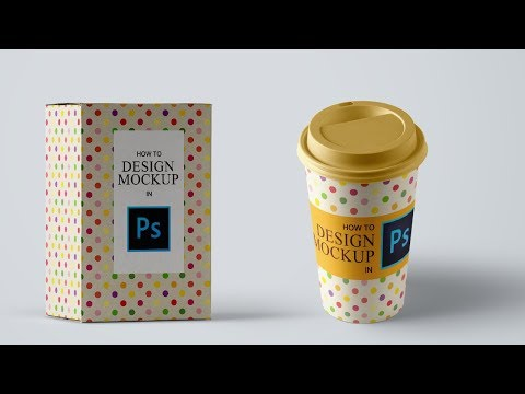 How to Design Mockup in Photoshop | Adobe Photoshop Tutorial thumbnail