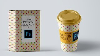 How to Design Mockup in Photoshop | Adobe Photoshop Tutorial