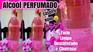 Álcool Perfumado Caseiro – Super Fácil