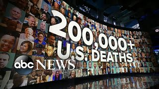 US hits 200,000 COVID-19 deaths in six months | WNT