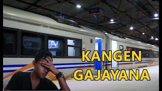Kangen Naik Kereta Api Kesayangan GAJAYANA - Kangen MasdaVLOG - Kapan Keretanya Jalan Lagi yaa???