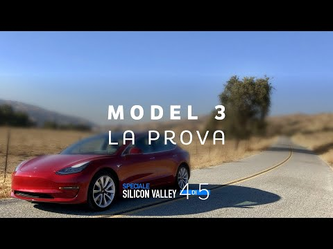 Tesla MODEL 3, la prova dell'Auto Elettrica più attesa del 2019