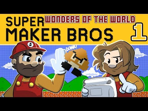 New Super Mario Maker | Let's Play: Wonders of the World Ep. 1 | Super Beard Bros.