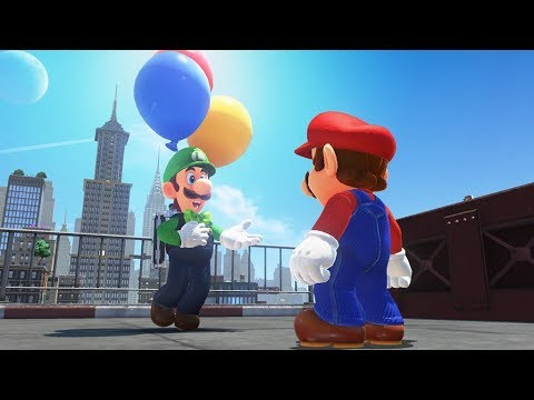Super Mario Odyssey Balloon World Update - NVC Plays Live!