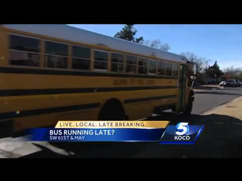 OKC mother says son's school bus is late every day