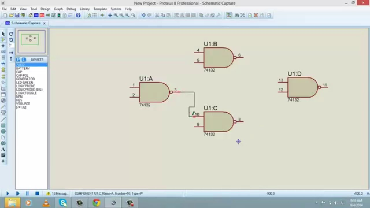 How To Use Proteus For Digital Logic Design Tutorial 7 Youtube
