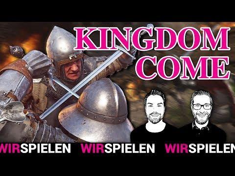 Kingdom Come Deliverance: Ritterspiele und Männerfantasien   WIRSPIELEN