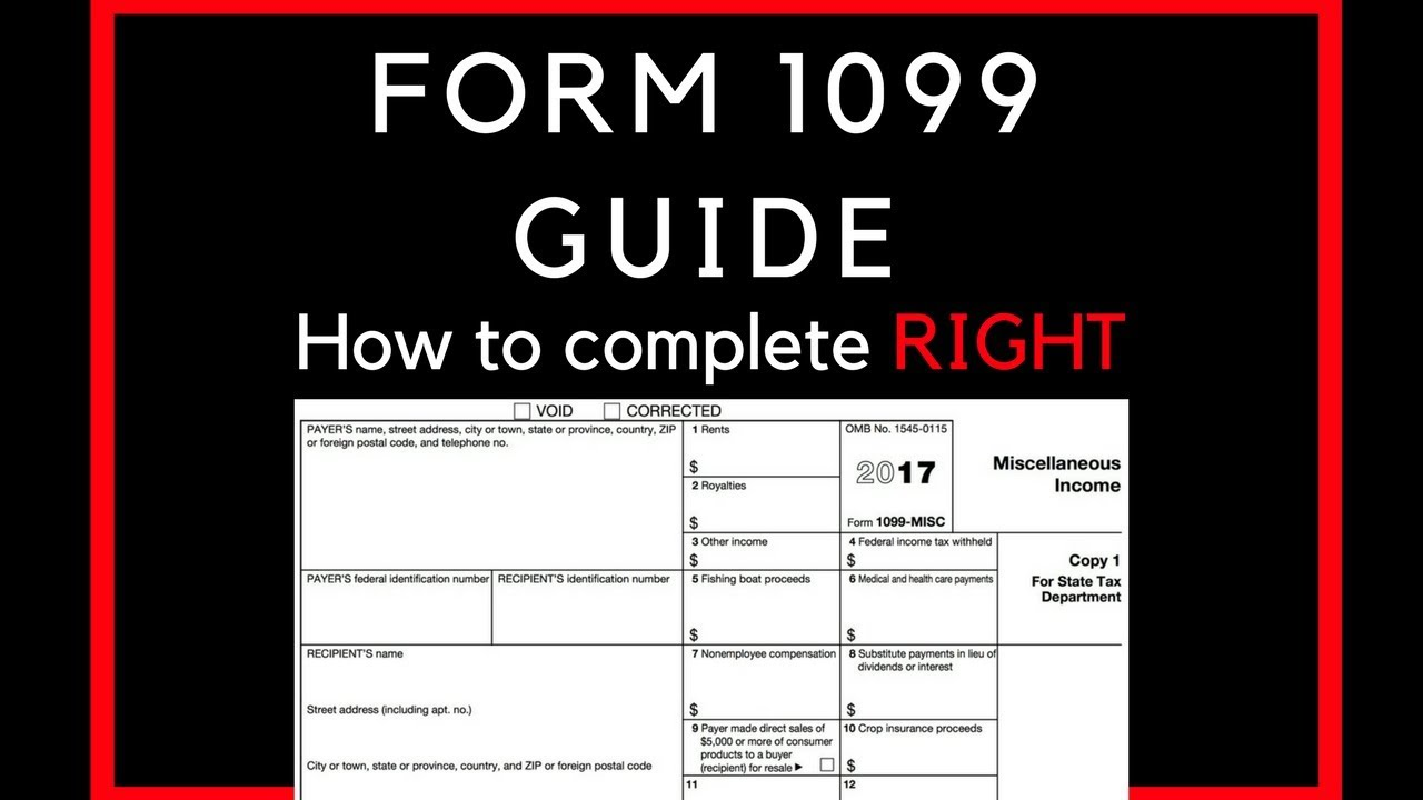 How to complete a 1099 form for your workers youtube how to complete a 1099 form for your workers falaconquin