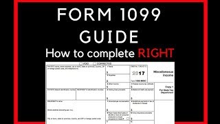 HOW TO COMPLETE A 1099 FORM FOR YOUR WORKERS