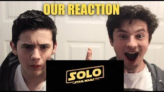 Solo: A Star Wars Story Trailer | Our Reaction