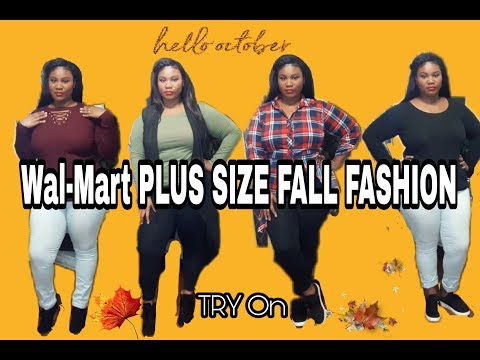 f5f5014fb8c SAVE ALL YOUR COINS WALMART PLUS SIZE FALL TRY ON HAUL
