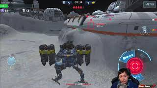 2 Hours Of Mk2 Falcon Meta Gameplay - War Robots Live Export WR