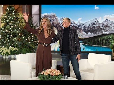 Phill Kross - Ellen Wants to Throw an On-Air 50th Birthday Party for Jennifer Aniston!
