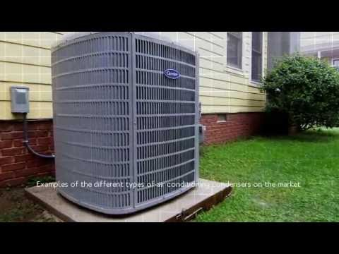 Different Models of Air Conditioning Condensers