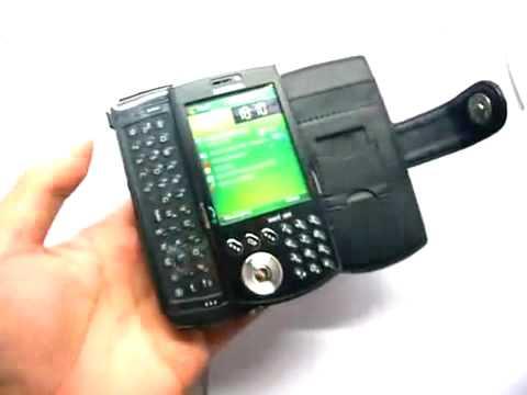 Capa de couro Premium Full proteção Horizontal para SAMSUNG SCH i760